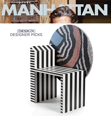 Kelly Behun, Kelly Behun Studio, Neo Maroc Chair, american modern, contemporary furniture, contemporary chairs, memphis style furniture, laminate furniture