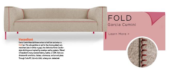 Fold, Garcia Cumini, Garcia Cumini Associati, verzelloni, suiteny, suiteny.com, suite new york