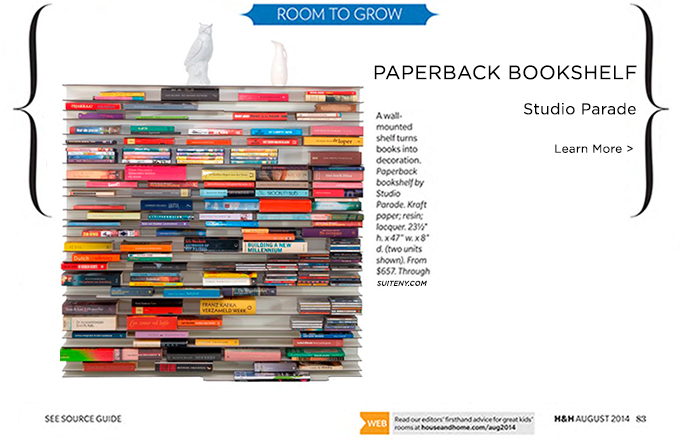 CANADIAN HOUSE & HOME: Paperback Bookshelf