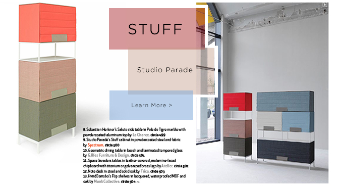 Stuff, Studio Parade, Spectrum, Storage, Suiteny, suiteny.com, suite new york