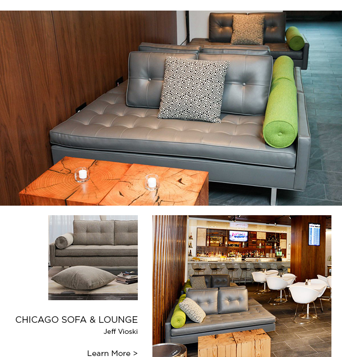 Chicago Sofa, Chicago Lounge, Jeff Vioski, Modern Sofas, Modern furnishings, Vioski, Suiteny, suiteny.com, Suite New York