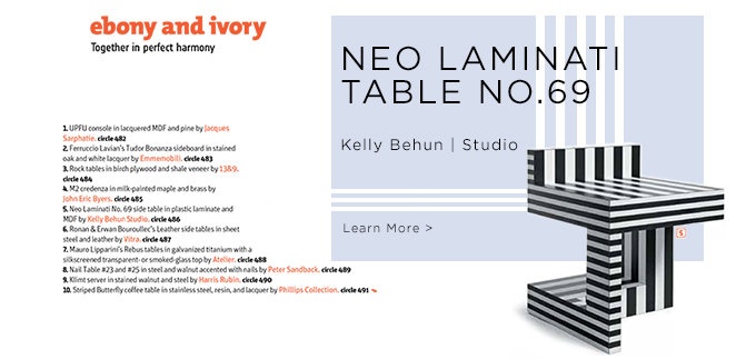 Neo Laminati No.69, Kelly Behun, Kelly Behun | Studio, Kelly Behun Studio, suiteny, suiteny.com, suite new york, neo laminati collection