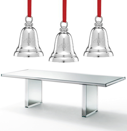 Prism Dining Table, PRISM glas italia, prism table, mirrored table, Glas Italia, Tokujin Yoskioka, SUITE NY, mirror, suiteny.com