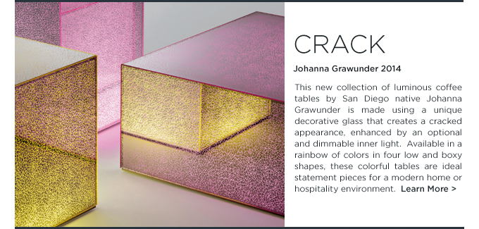 Crack, Glas Italia, Johanna Grawunder, Crack tables, modern Coffee Tables