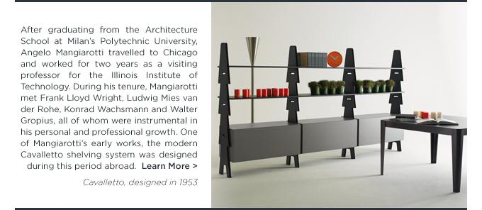 Angelo Mangiarotti, Cavalletto Shelving System, Agapecasa, black, modern bookshelf
