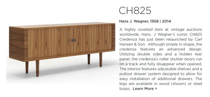 CH825 Credenza, Hans J. Wegner, Carl Hansen, modern, sideboard, buffet