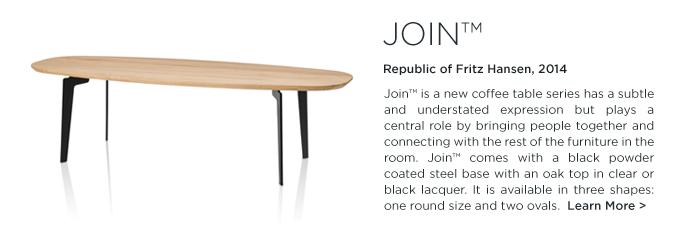 Join Coffee Table, join fritz hansen, Fritz Hansen, modern danish design, danish coffee table