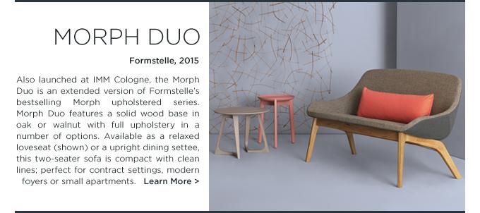 Morph Duo Living, Morph Duo, Zeitraum, Formstelle, modern loveseat