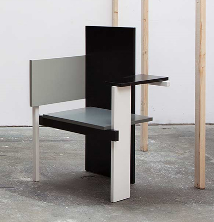 Gerrit Rietveld, Berlin Chair, Suite NY, Spectrum, modern design, geometric Design, The Netherlands