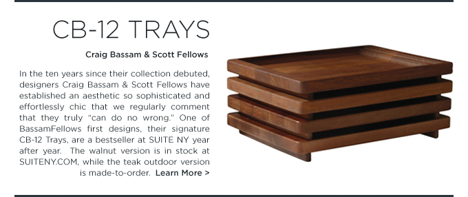 CB-12 Teak Trays, outdoor, bassamfellows, craig bassam, scott fellows, teak table, outdoor trays, outdoor teak accessories