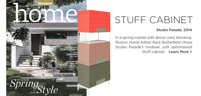 Stuff Cabinet, Spectrum Stuff, Studio Parade Stuff, Studio Parade, boston home, kara butterfield, Boston Home Magazine
