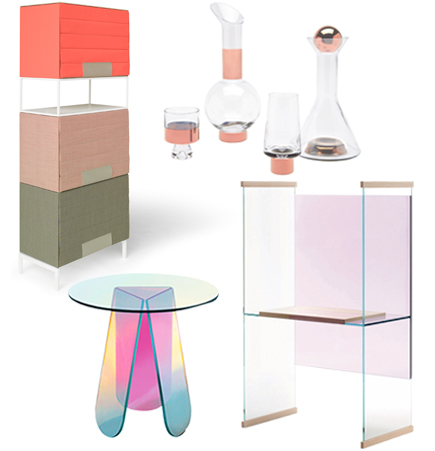 Suite NY, Spring 2015, Press, stuff cabinet, tom dixon tank barware, spectrum studio parade stuff cabinet, patricia urquiola, shimmer table, glas italia