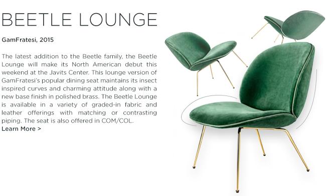 Beetle Lounge chair, GamFratesi, Gubi, lounge seating, danish designer furniture, icff 2015, suite ny, suite new york