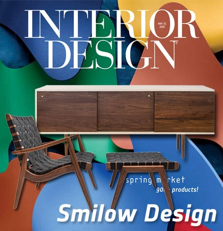 credenza, judy smilow, smile design, smilow furniture, mel smilow, wlc chair, woven rush chair, american furniture, american made furniture, american modern furniture, interior design magazine, interior design, spring market guide 2015, suite ny, suiteny, suite new york, suiteny.com, iconic design