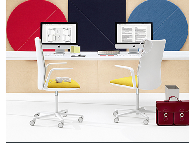 KINESIT TASK CHAIR LIEVORE ALTHERR MOLINA YELLOW WHITE ARPER CONTRACT FURNITURE