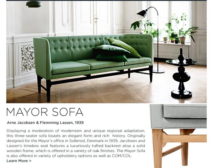 andtradition arne jacobsen flemming lassen danish design mayor sofa