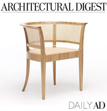 faaborg chair, kaare lint, rud rasmussen, iconic design, french cane, iconic chairs, grandfather danish design, danish design, design history, elm burl wood, danish designer furniture, scandinavian, carl hansen, carl hansen and son, dining chairs, woven seat, architectural digest, daily ad, suite ny, suite new york, suiteny.com