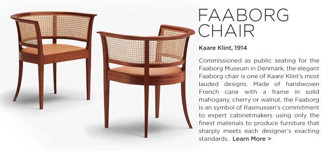 Faaborg Chair, Kaare Klint ,Faaborg Chair Kaare Klint, Rud Rasmussen, SUITE NY, Rud Rasmussen, SUITE NY