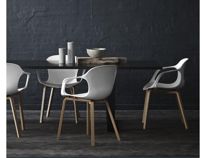 Nap Chair white Kasper Salto Fritz Hansen for blog