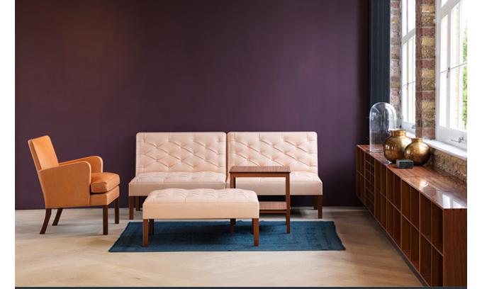 Rud Rasmussen, SUITE NY, Kaare Klint, Addition Sofa, Kaare Klint Addition, Mogens Koch Bookcase