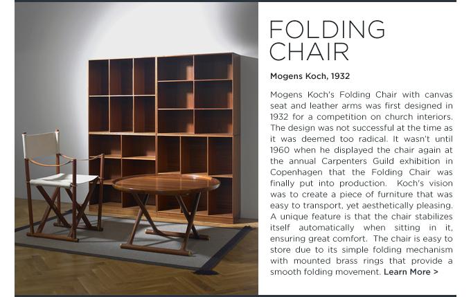 Superbe ... Rud Rasmussen, Mogens Koch Folding Chair, Mogens Koch Bookcase,  Egyptian Table. Midcentury ...