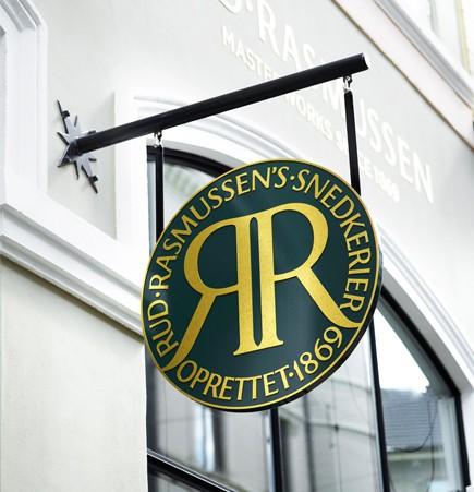 Rud Rasmussen shop denmark midcentury modern furniture showroom