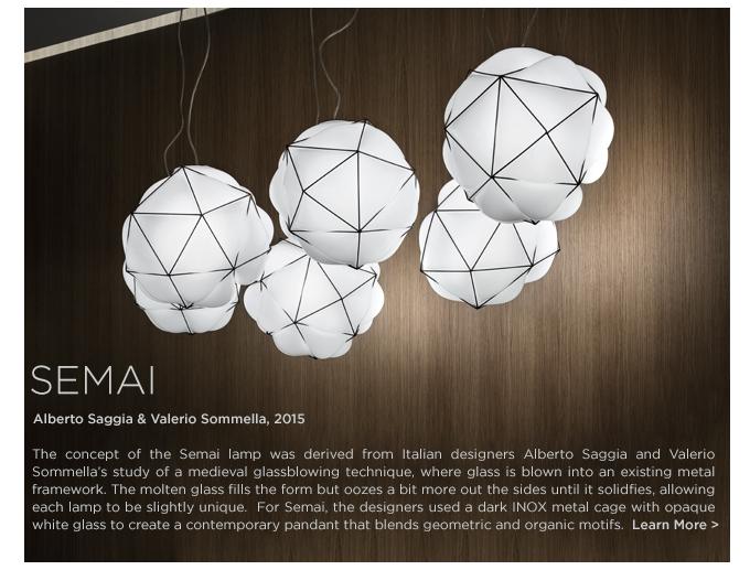 Semai pendant, Vistosi Semai, Vistosi pendant, alberto saggia valerio sommella 2015 white, glass ball light, inox metal