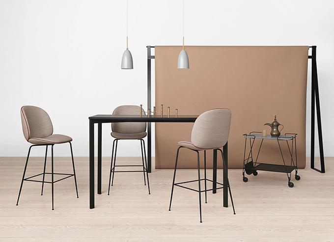 gamfratesi, jacob gubi, gubi, enrico fratesi, stine gam, danish italian design, creative collaboration, creative partnership, beetle bar stool, beetle chair