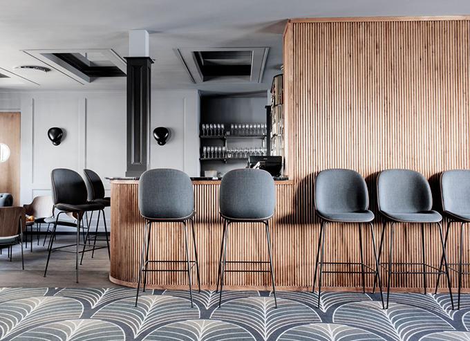 gamfratesi, jacob gubi, gubi interview, enrico fratesi, stine gam, danish design, italian design, creative collaboration, partnership, beetle chair, bar stool, counter, chair, lounge
