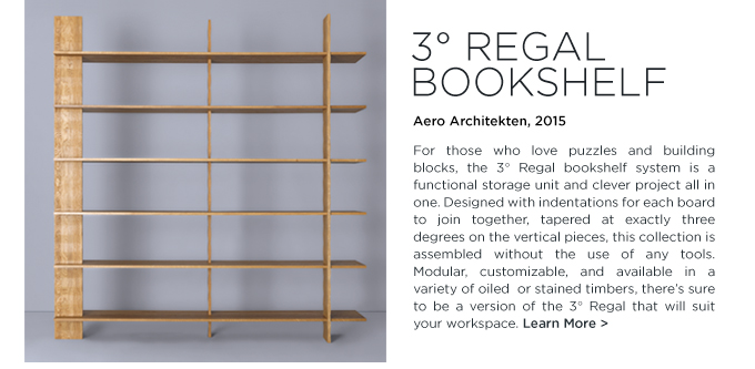 3 regal bookshelf, zeitraum, aero architekten, wooden contemporary bookcase, shelving system