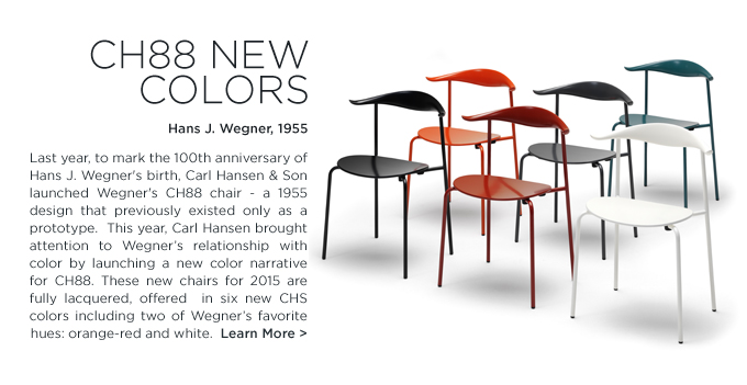 CH88 dining chair, hans wegner, carl hansen, lacquered dining chair, chinese red