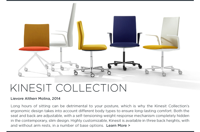 Kinesit collection, office chair, arper, lievore altherr molina, colorful office furniture