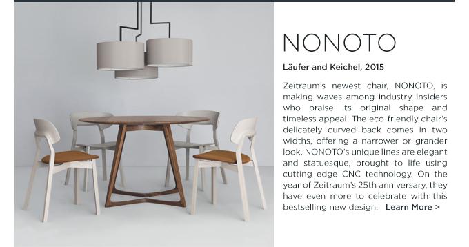 Nonoto dining chair, zeitraum, lauder keichel, ecofriendly, german modern design