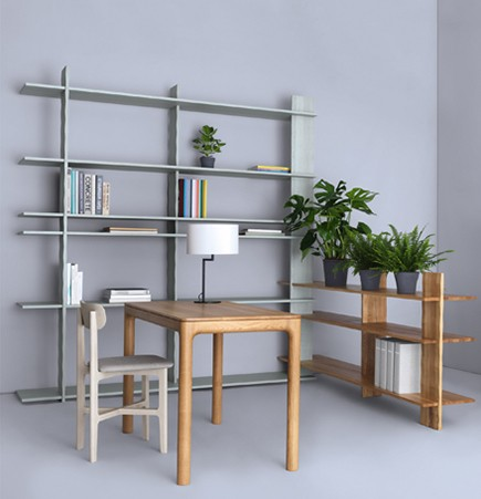 Suite Ny, Zeitraum, office furniture, school, m11 table, neat, noon, table lamp, regal bookshelf