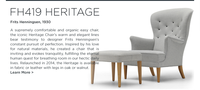 Lounge Chair, Armchair, fh419 heritage, carl hansen, midcentury, contemporary, design, furniture