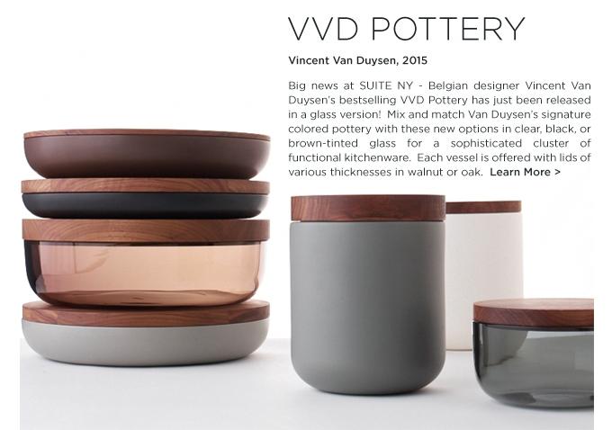 VVD Pottery Vincent Van Duysen when object works modern ceramics