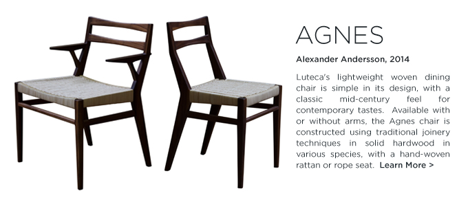 Agnes Dining Table Luteca Alexander Andersson Modern Mexican Furniture