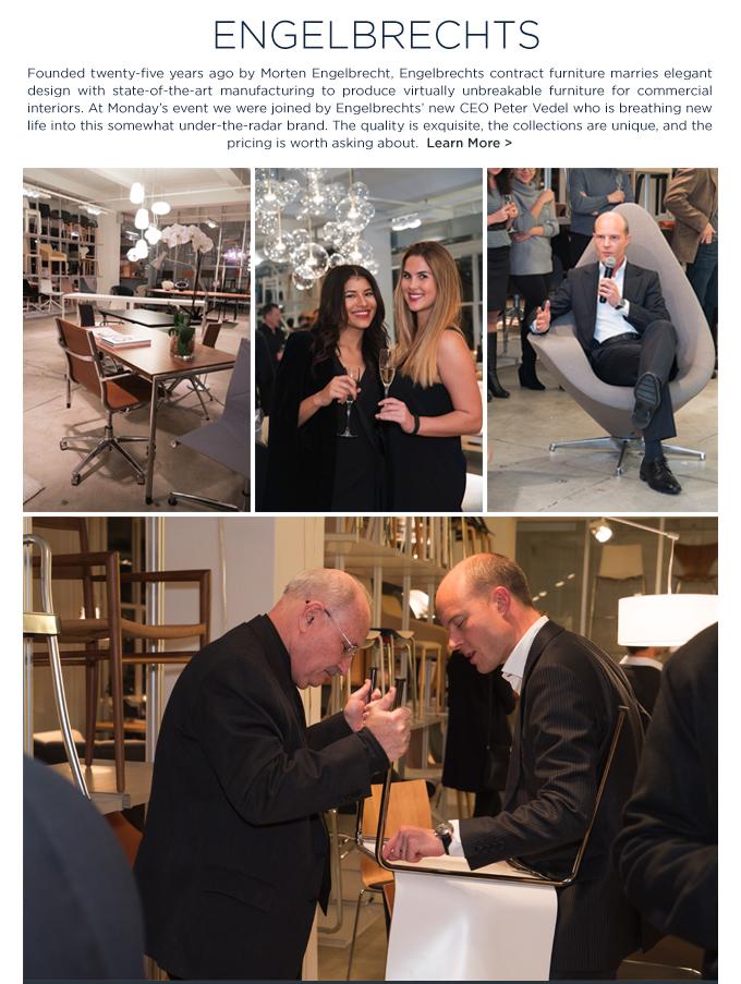 From Copenhagen with Love SUITE NY Engelbrechts Peter Vedel contract furniture Danish design
