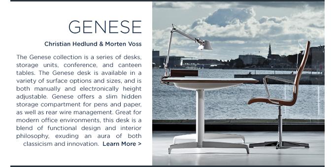 Holmris Genese Desk height adjustable christian hedlund vorten voss suite ny