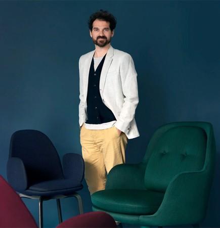Jaime Hayon Fri armchair fritz Hansen sammen dining chair