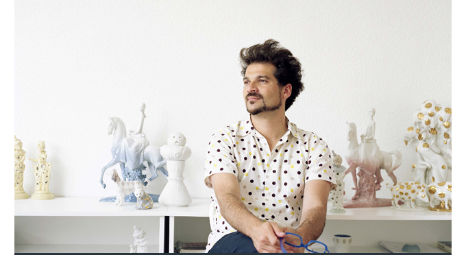 Jaime Hayon spanish design fritz hansen andtradition suiteny hayon studio portrait 1
