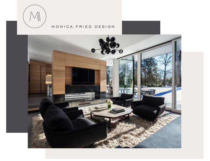 Monica Fried Design Modern Tudor Home Suite NY New York