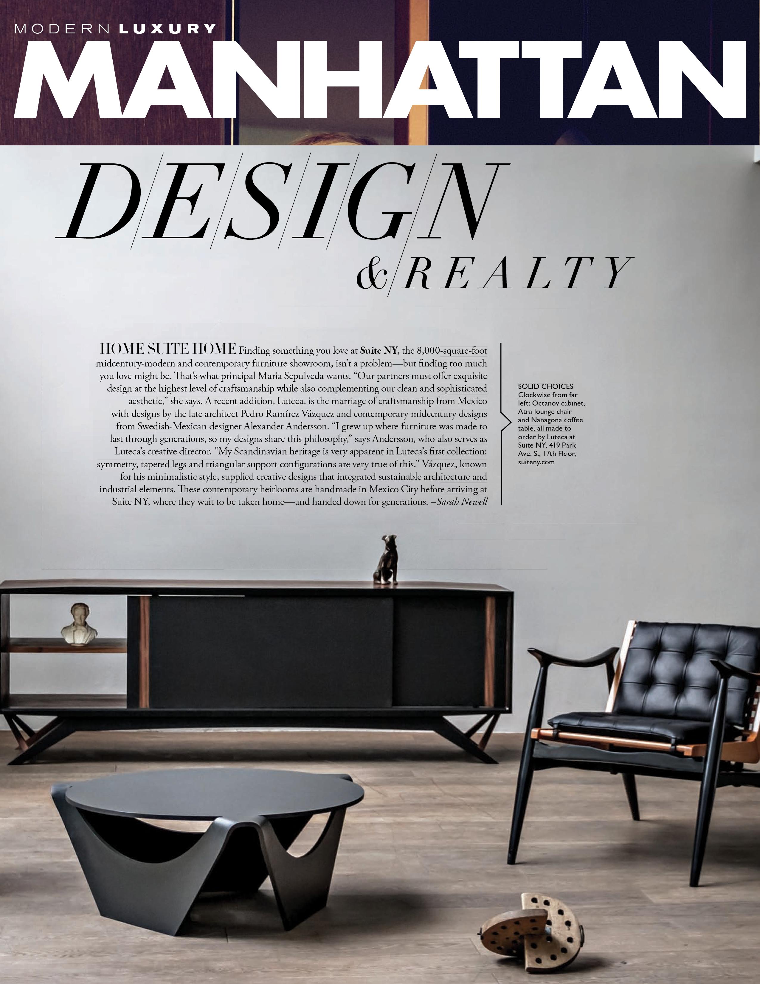 Luteca mexican designer furniture alexander andersson pedro ramirez vazquez atra chair