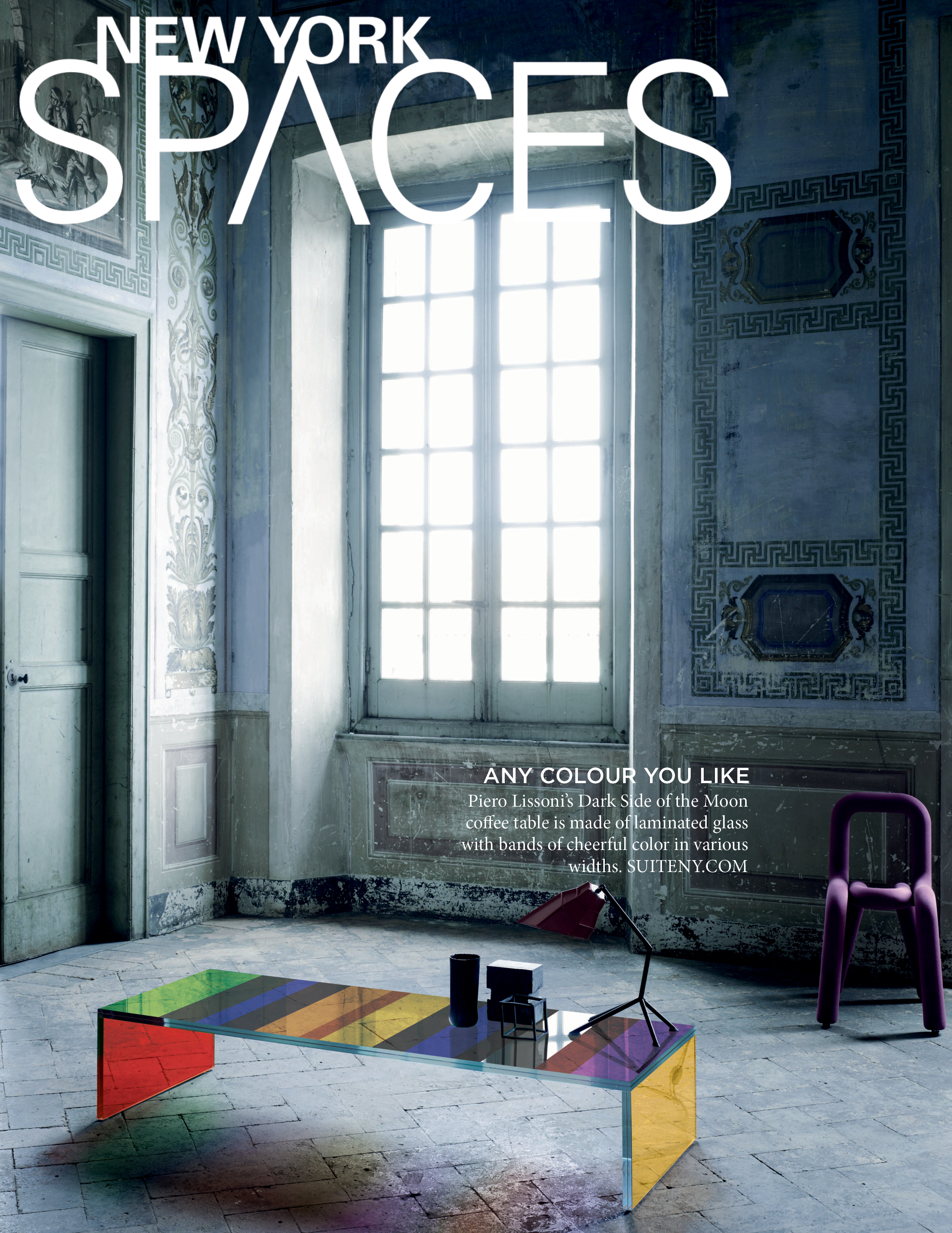 new york spaces dark side of the moon coffee table suite news. Black Bedroom Furniture Sets. Home Design Ideas
