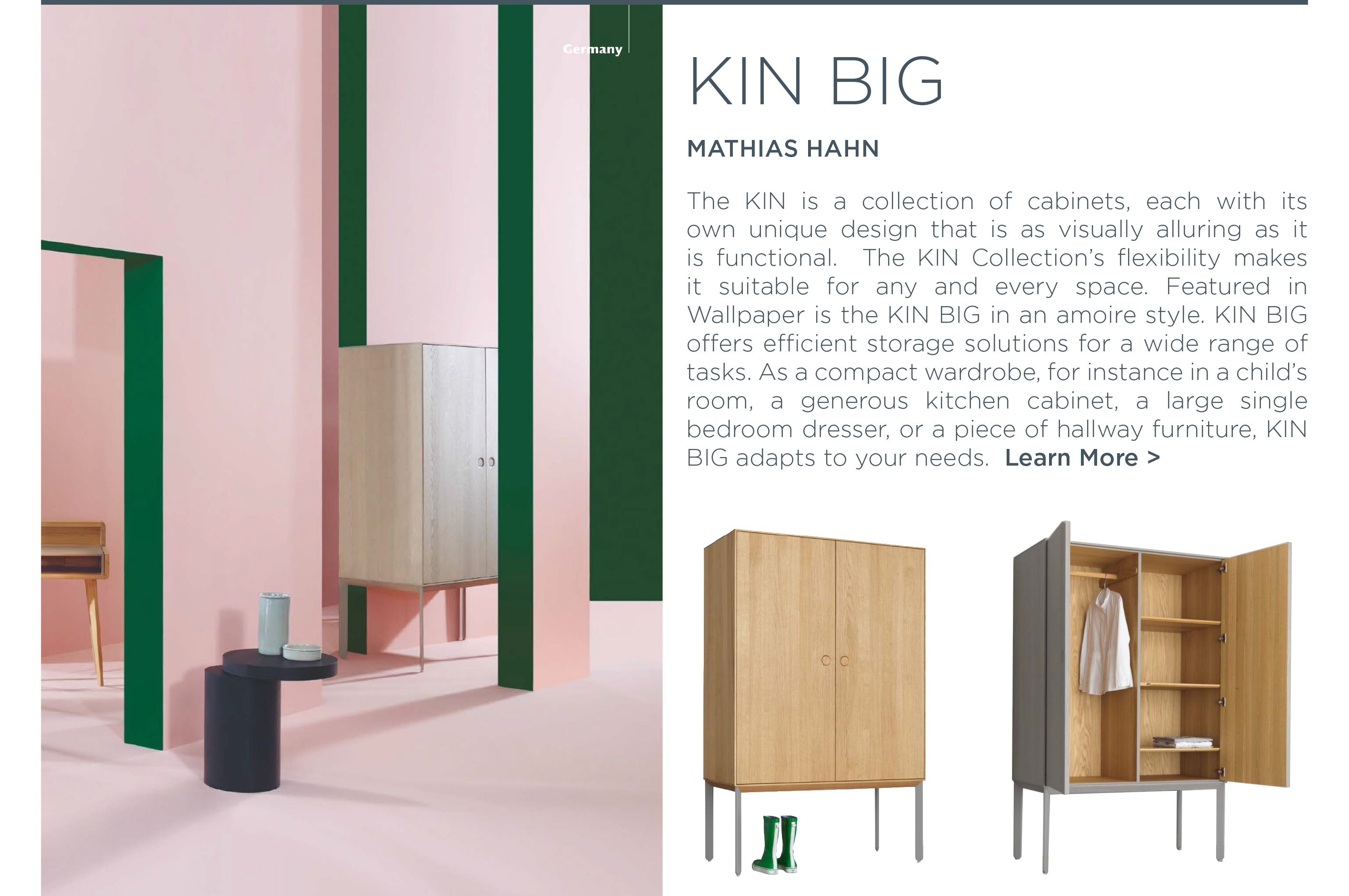 ... Kin Cabinet Series Big Mathias Hahn Zeitraum Wallpaper Magazine Solid  Wood Furniture Suite Ny New York ...
