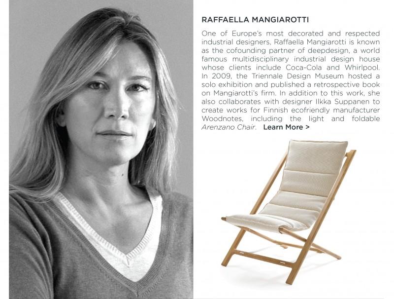 Raffaella Mangiarotti deepdesign woodnotes arenzano chair ecofriendly finnish design