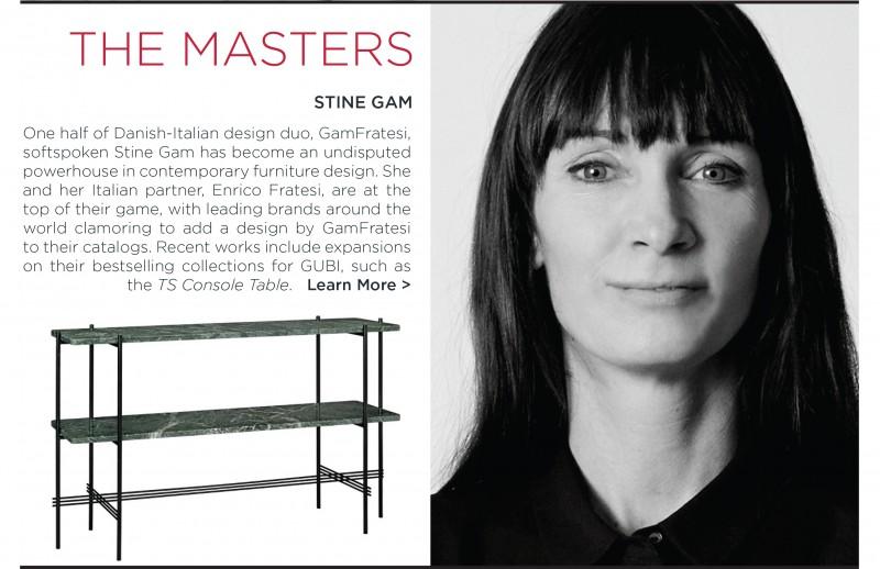 Stine Gam Gamfratesi TS table gubi green marble console