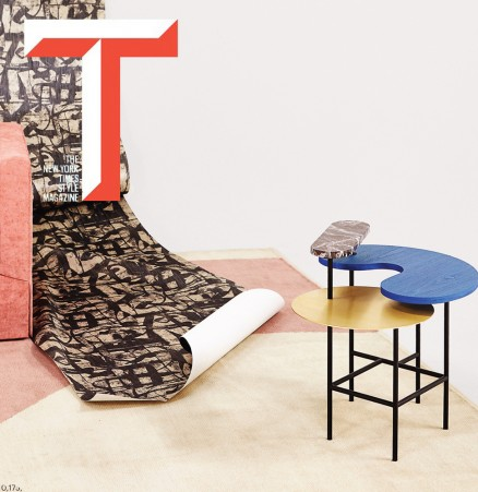 T Magazine Palette Table jaime hayon suite ny occasional table coffee table