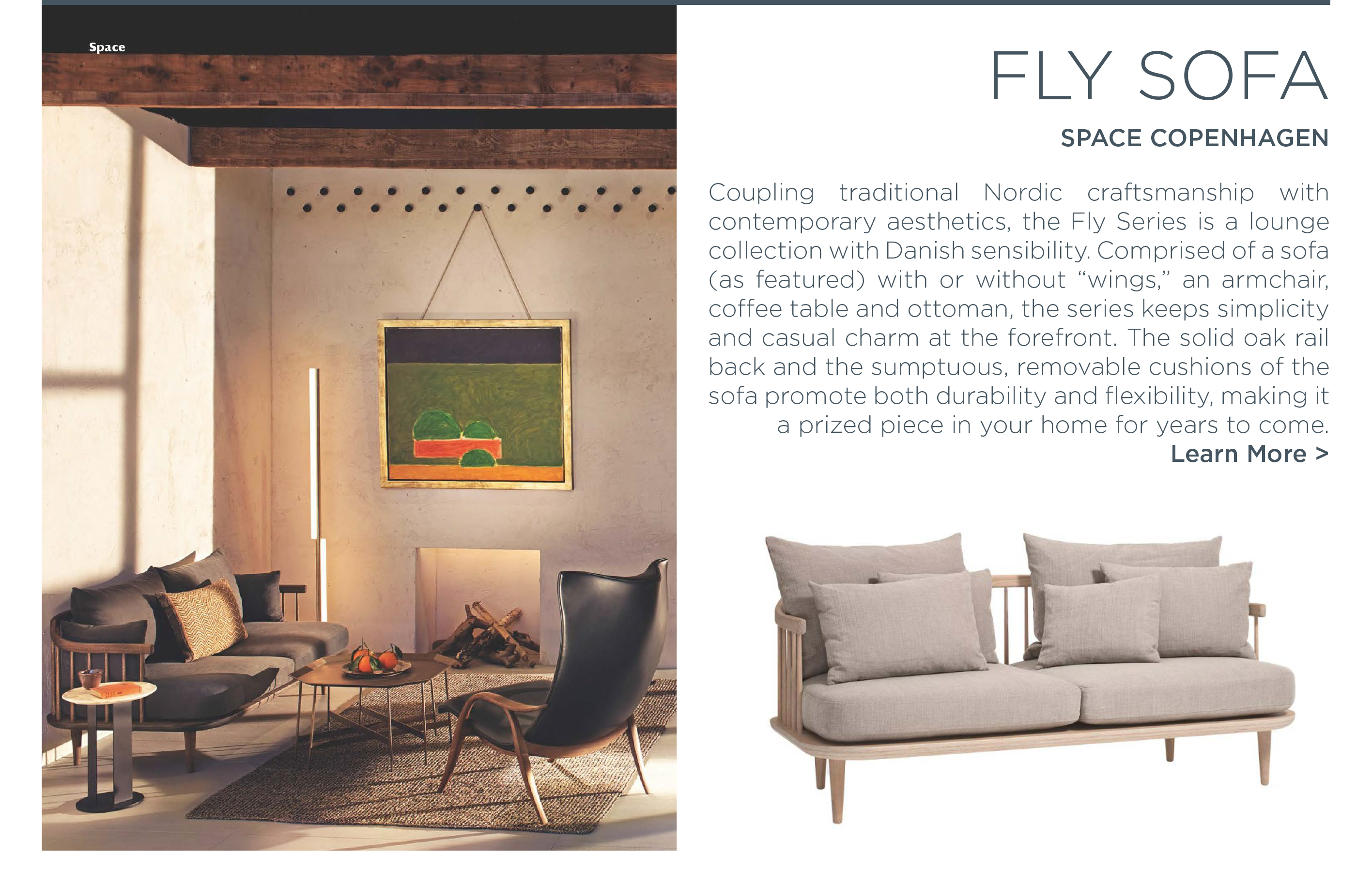 fly sofa space copehagen antradition danish designer furniture suite ny new york