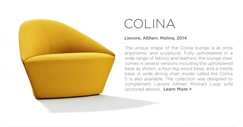 arper colina loop sofa lievore altherr molina golden yellow modern furniture suiteny